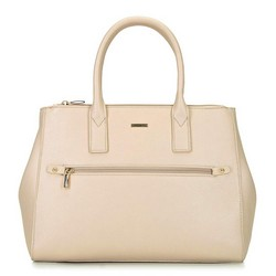 Női shopper táska állítható szélességgel, bézs, 92-4Y-613-0, Fénykép 1