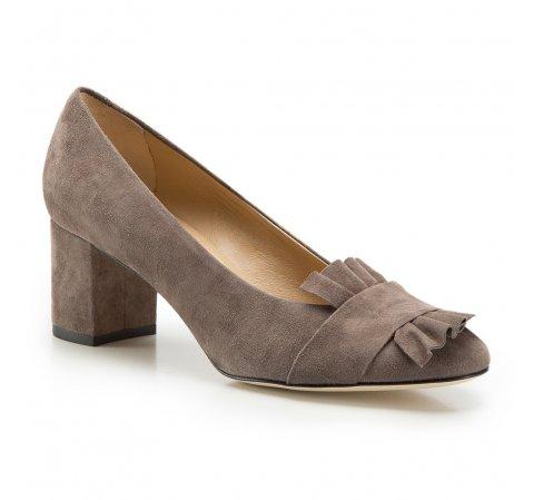 Női cipő, bézs-szürke, 86-D-109-8-35, Fénykép 1