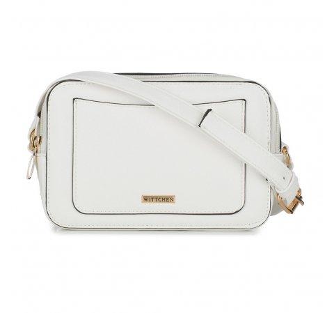 Dámská kabelka, bílá, 88-4Y-304-0, Obrázek 1