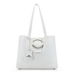 Dámská kabelka, bílá, 90-4E-350-0, Obrázek 1