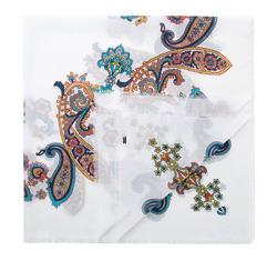 Dámský šátek, bílá, 84-7D-X02-X01, Obrázek 1