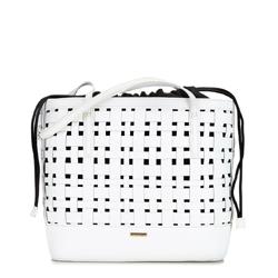 Dámská kabelka, bílá, 92-4Y-605-0, Obrázek 1