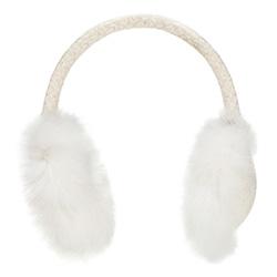 Klapky na uši, bílá, 87-HF-022-0, Obrázek 1