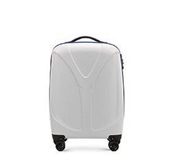 Malý cestovní kufr, bílá, 56-3P-951-81, Obrázek 1
