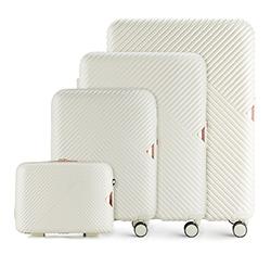 Sada cestovních zavazadel, bílá, 56-3P-84K-88, Obrázek 1