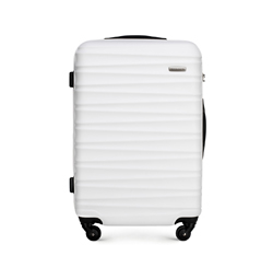 Střední zavazadlo, bílá, 56-3A-312-89, Obrázek 1