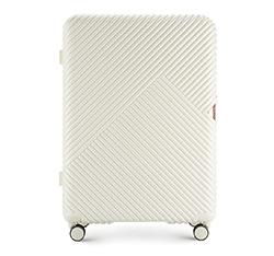 Velký kufr, bílá, 56-3P-843-88, Obrázek 1