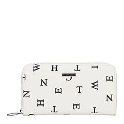 Dámská peněženka, bílo-černá, 90-1Y-550-0, Obrázek 1
