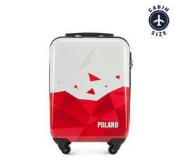 Kabinový cestovní kufr, bílo-červená, 56-3A-241-TR, Obrázek 1