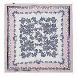 Malý šátek, bílo-růžová, 91-7D-S14-X12, Obrázek 1
