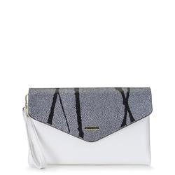 Dámská kabelka, bílo-stříbrná, 92-4Y-901-0, Obrázek 1