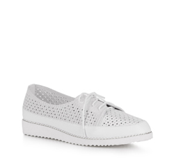Dámské boty, bílo-stříbrná, 88-D-950-S-40, Obrázek 1