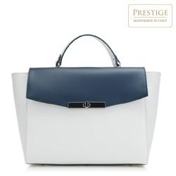 dámská kabelka, bílo-tmavěmodrá, 88-4E-002-0N, Obrázek 1