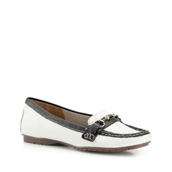Dámská obuv, bílo-tmavěmodrá, 88-D-702-0-38, Obrázek 1