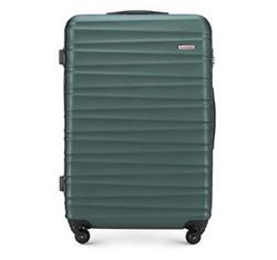 Большой чемодан, зеленый, 56-3A-313-85, Фотография 1