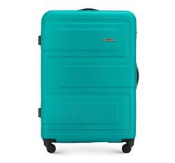 Большой чемодан, бирюзовый, 56-3A-633-85, Фотография 1
