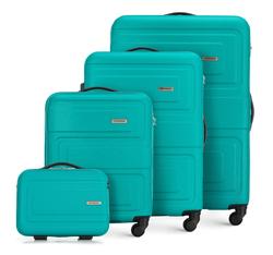 Комплект чемоданов, бирюзовый, 56-3A-63K-85, Фотография 1