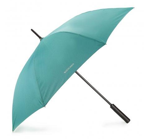 Большой полуавтоматический зонт, бирюзовый, PA-7-165-Z, Фотография 1