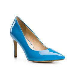 Damenschuhe, blau, 84-D-503-7-40, Bild 1