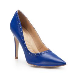 Damenschuhe, blau, 86-D-751-N-35, Bild 1