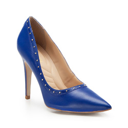 Damenschuhe, blau, 86-D-751-N-38, Bild 1