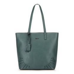 Einkaufstasche, blau, 87-4Y-559-N, Bild 1