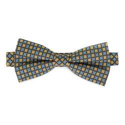 FLIEGE AUS SEIDE, blau-gelb, 92-7I-001-X1, Bild 1