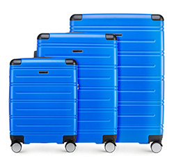 KOFFERSET 3-TEILIG, blau, 56-3A-44S-90, Bild 1