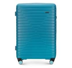 Großer Koffer, blau, 56-3A-453-95, Bild 1