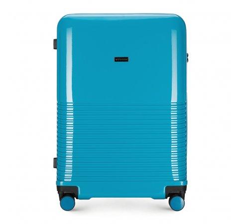 blauer Koffer aus der Sky-Kollektion