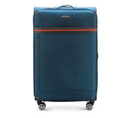 Großer Koffer 81 cm, blau, 56-3S-493-95, Bild 1