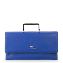 Handtasche, blau, 87-4E-439-N, Bild 1