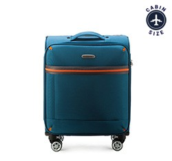 Kabinentrolley 55 cm, blau, 56-3S-491-95, Bild 1