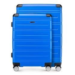KOFFERSET (GROSSER + MITTLERER KOFFER), blau, 56-3A-442_3-90, Bild 1
