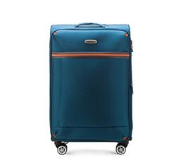Mittelgroßer Koffer 71 cm, blau, 56-3S-492-95, Bild 1
