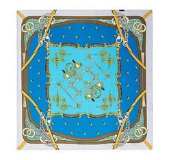Frauen Halstuch, blau, 86-7D-S13-X4, Bild 1