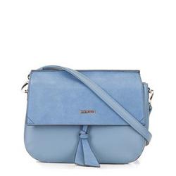 Schultertasche, blau, 88-4Y-217-N, Bild 1