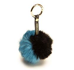 Schlüsselanhänger, blau-schwarz, 85-2F-X99-X5, Bild 1