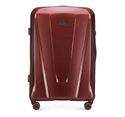 Большой чемодан, бордовый, 56-3P-123-35, Фотография 1