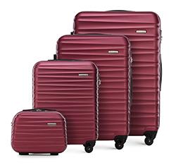 Комплект чемоданов, бордовый, 56-3A-31K-31, Фотография 1