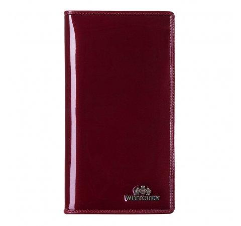 Обложка для паспорта, бордовый, 14-2L-200-1, Фотография 1
