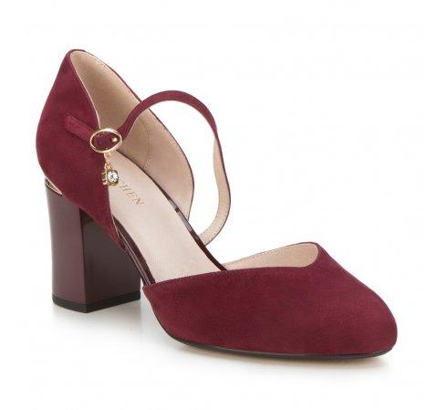 Обувь женская, бордовый, 88-D-955-7-36, Фотография 1