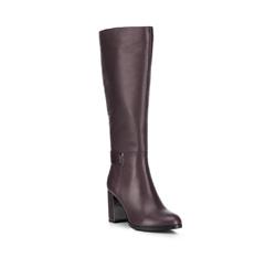 Обувь женская, бордовый, 89-D-962-2-35, Фотография 1