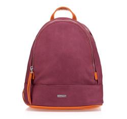 Рюкзак женский, бордовый, 85-4Y-217-2, Фотография 1