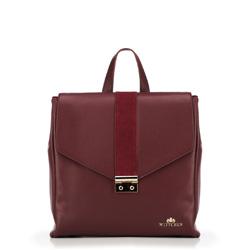 Рюкзак женский, бордовый, 89-4E-361-2, Фотография 1