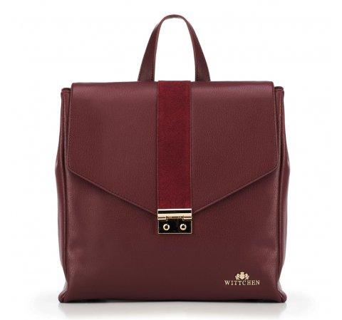 Рюкзак женский, бордовый, 89-4E-361-1, Фотография 1