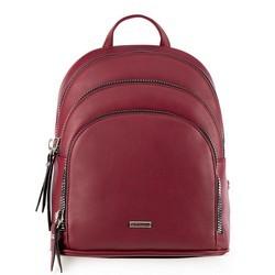 Рюкзак женский, бордовый, 90-4Y-355-2, Фотография 1