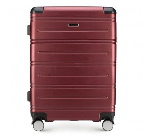 Средний чемодан, бордовый, 56-3A-442-35, Фотография 1
