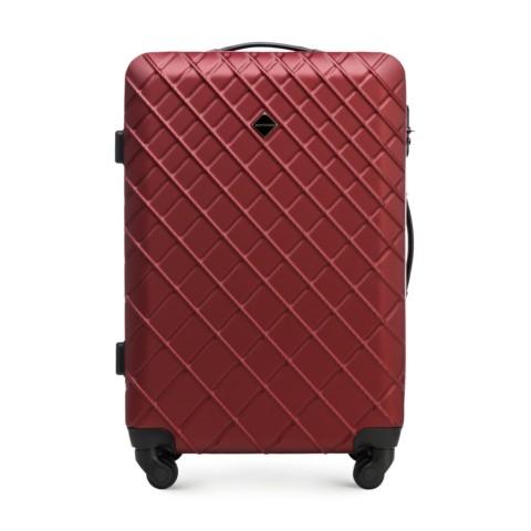 Средний чемодан, бордовый, 56-3A-552-11, Фотография 1