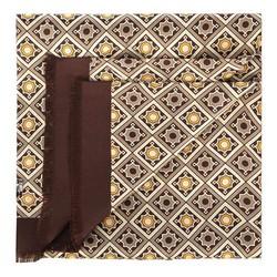 Herrenschal, braun-beige, 90-7M-S40-X2, Bild 1